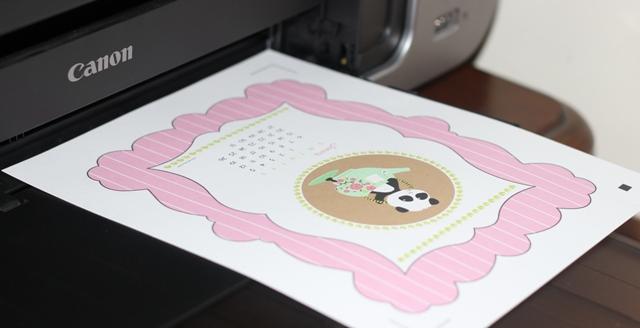 Ta da! Printed!