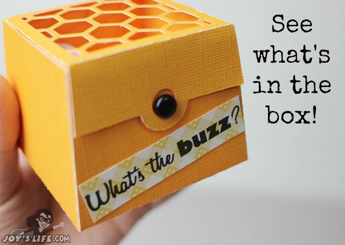 3D Bee Box Surprise – Lori Whitlock Design Team