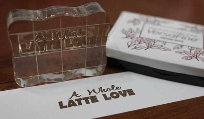 Latte Love Coffee Card