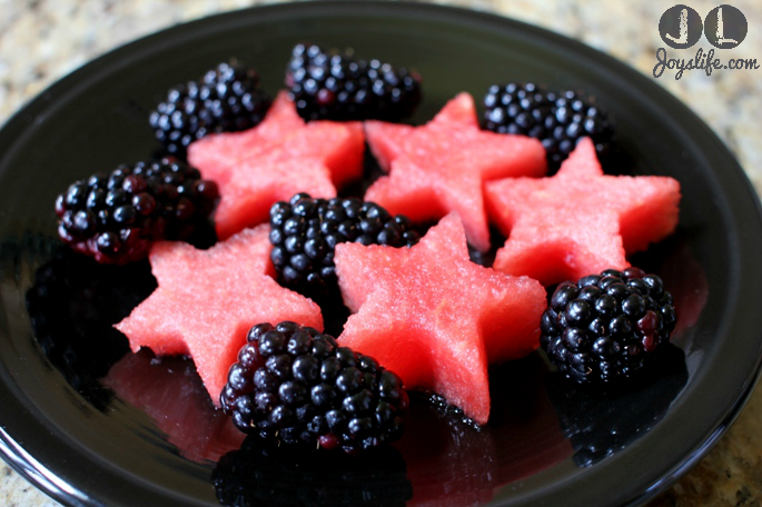 Cascade Platinum Shows Off My Festive Watermelon Stars
