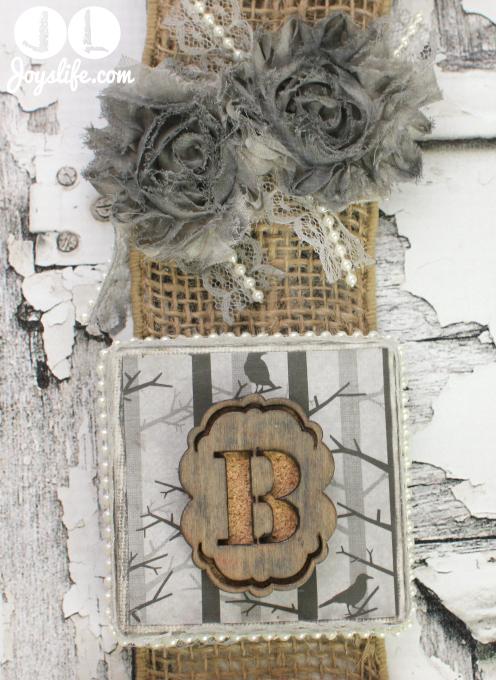 BOO Ribbon Wall Hanging – Faber Castell & May Arts Blog Hop