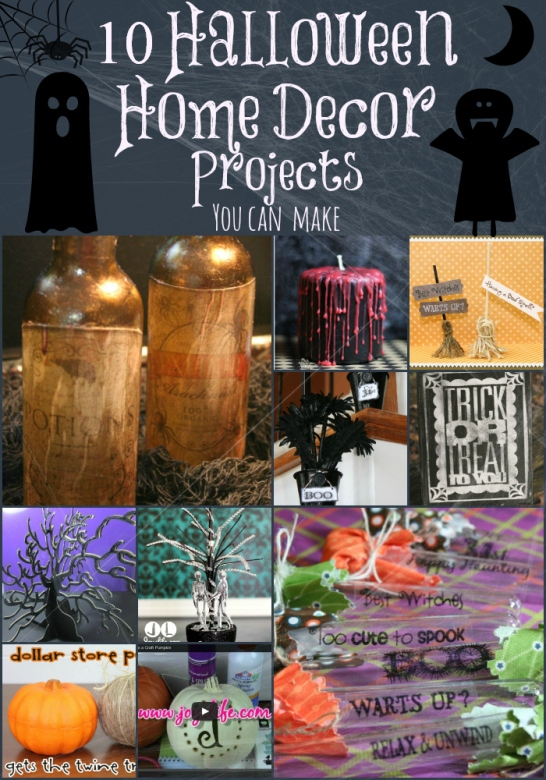 10 Halloween Home Decor Projects You Can Make