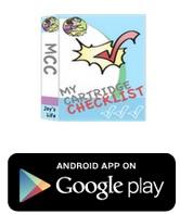 My Cartridge Checklist App #Cricut #CartridgeChecklist #App #Joyslife