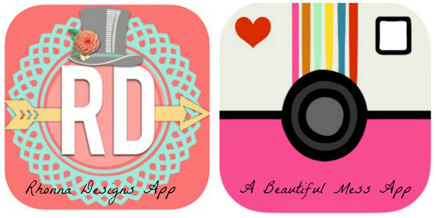 Two Photo Editing Apps I Love #ABeautifulMess #RhonnaDesigns #App #Technology