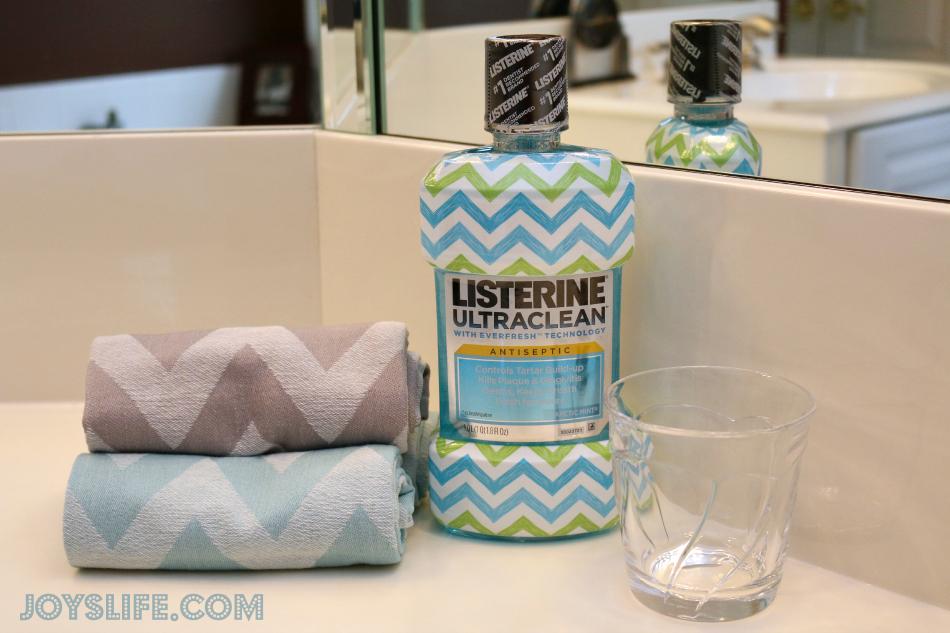How Cute! Exclusive Chevron Listerine Bottles #listerine #target