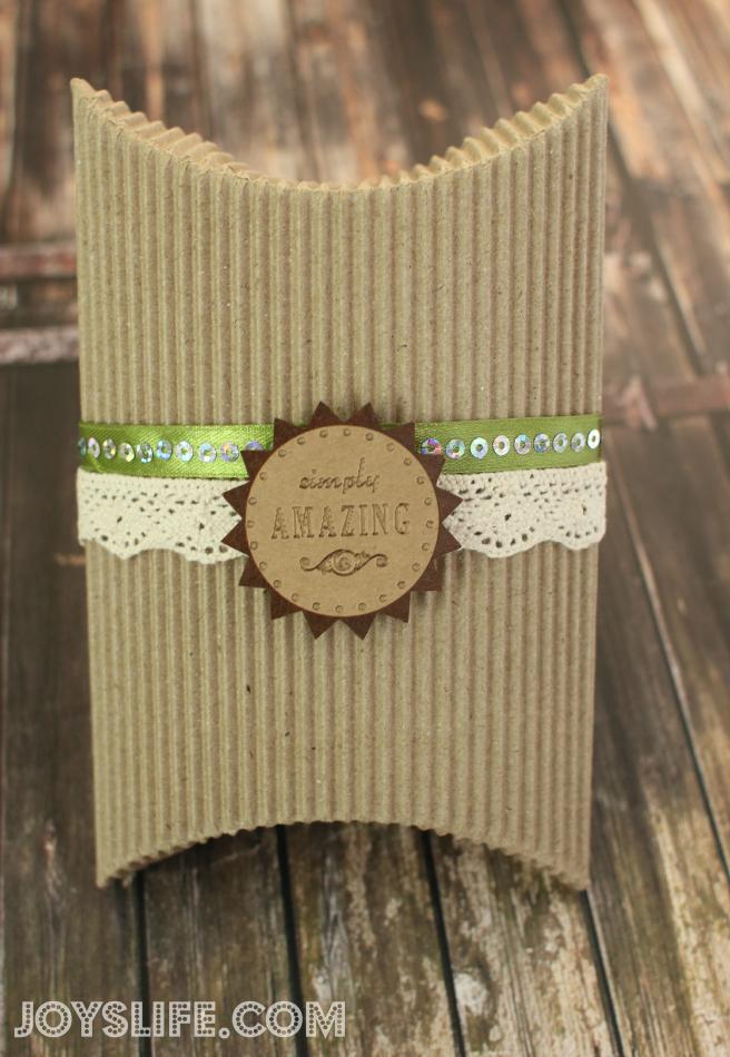 SEI Simply Amazing Pillow Box #SEI #PillowBox #crafts