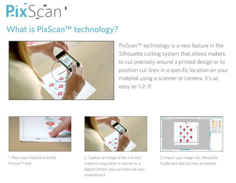 Silhouette Releases New PixScan Technology, Vinyl Roller & More