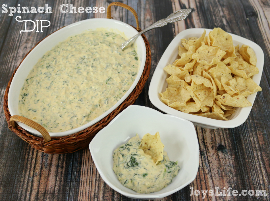 Frozen Foods Makin' It Easy – A Delicious Hot Spinach Cheese Dip Recipe