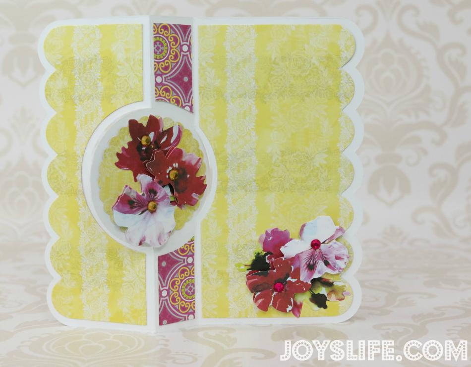 Bright & Beautiful Card with SEI #SEI #Sizzix #Flipits #Framelits