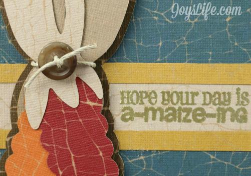 Core'dinations Design Team A-Maize-ing Card Sneak Peak