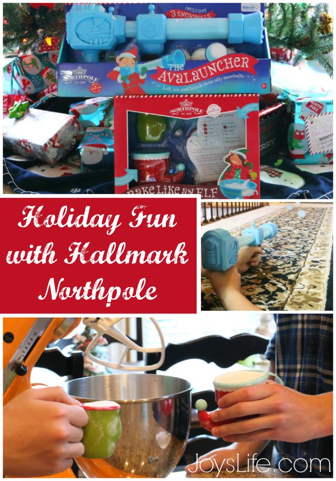 Holiday Fun with Hallmark Northpole #NorthpoleFun #Ad