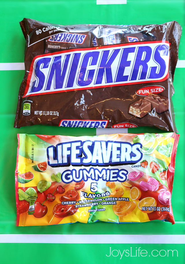 Snickers & LifeSavers #BigGameTreats #Ad