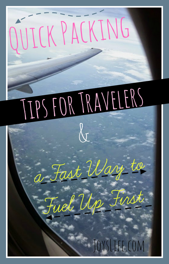 Quick Packing Tips for Travelers & a Fast Way to Fuel Up First #TruMoo #Vacation #travel #tips