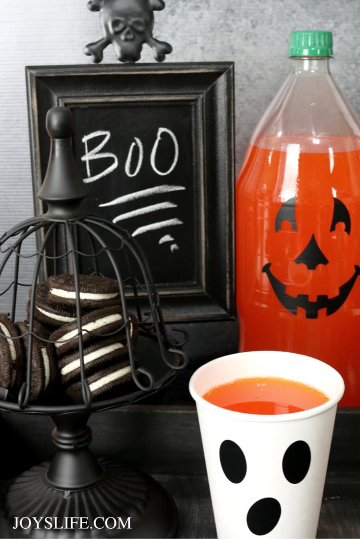 Easy Halloween Party Ideas & Free Silhouette Monster Face File #CVS4FantaFun ad #Halloween #partyideas