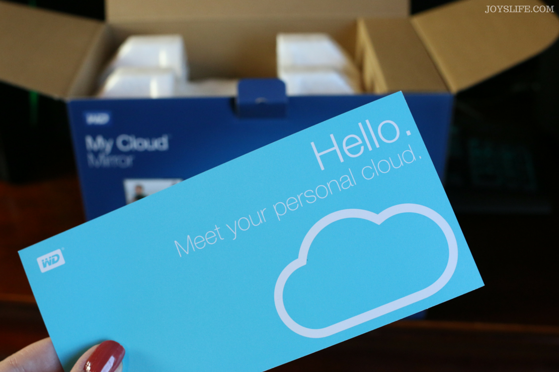 My Cloud Mirror - Personal Cloud Storage #KEEPITCOMING #MyCloud #ad