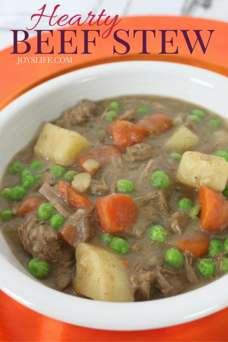 Hearty Beef Stew Recipe #KnifeSkills ad #IC #recipe