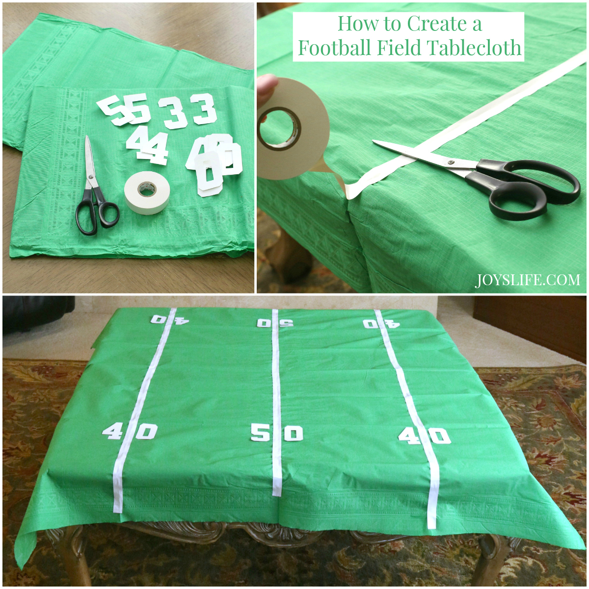Fun & Easy Football Party Ideas