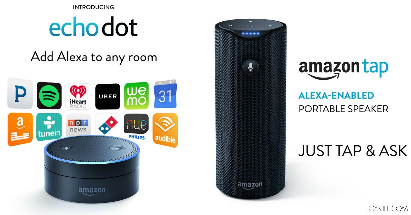 Amazon Echo Review + the new Echo Dot & Amazon Tap!