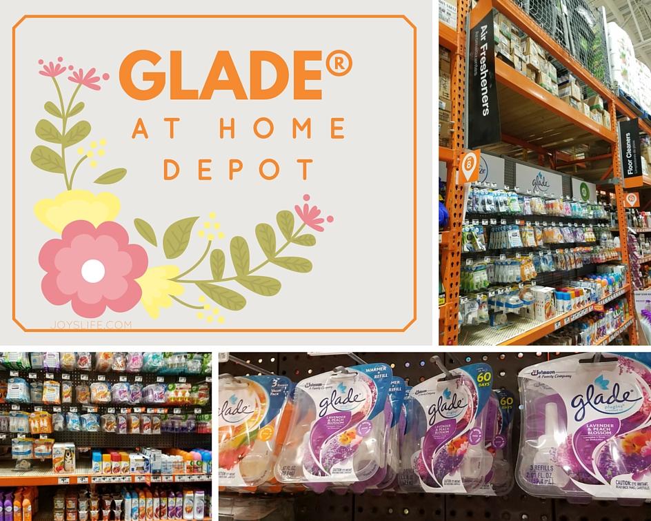 Glade at Home Depot