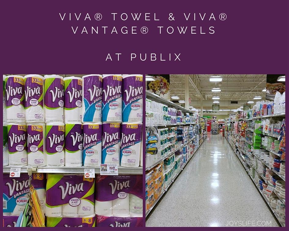 Viva Towels at Publix