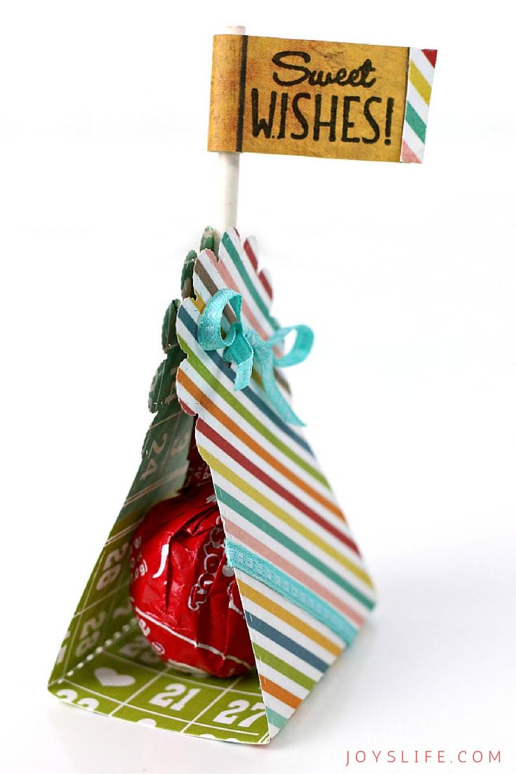 Simple Classroom Gift Lollipop Holder