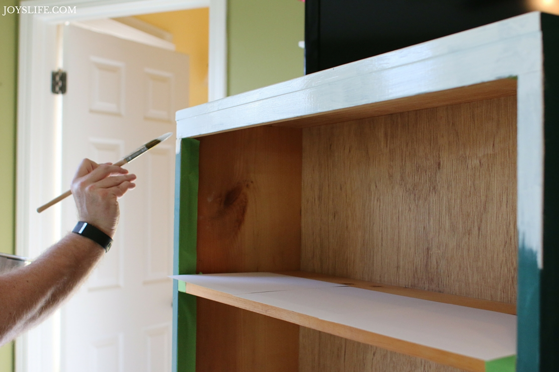 Painting the Bookcase