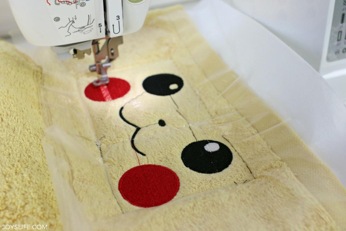 pikachu towel face