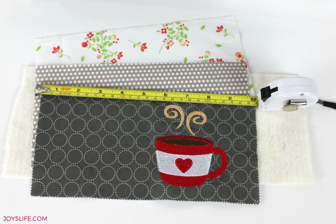 mug rug fabric