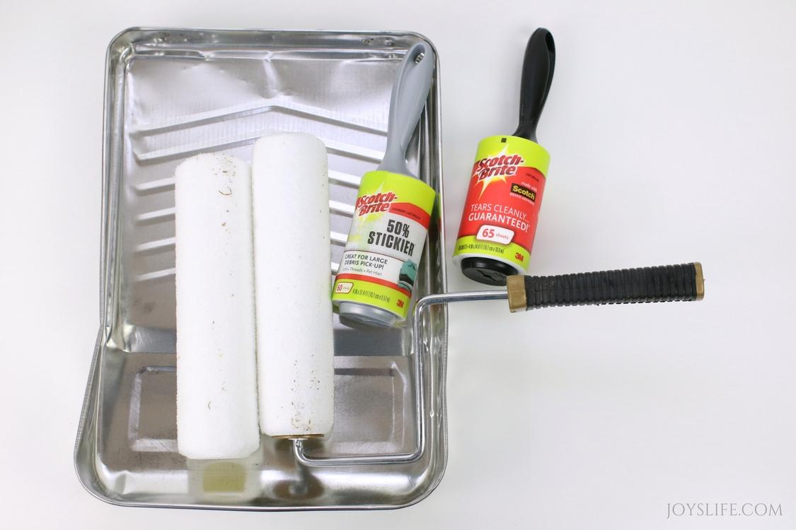 paint tray scotch brite
