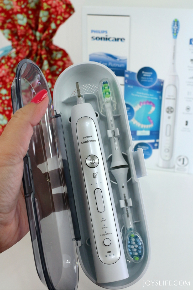 the NEW Philips Sonicare FlexCare Platinum Connected Toothbrush