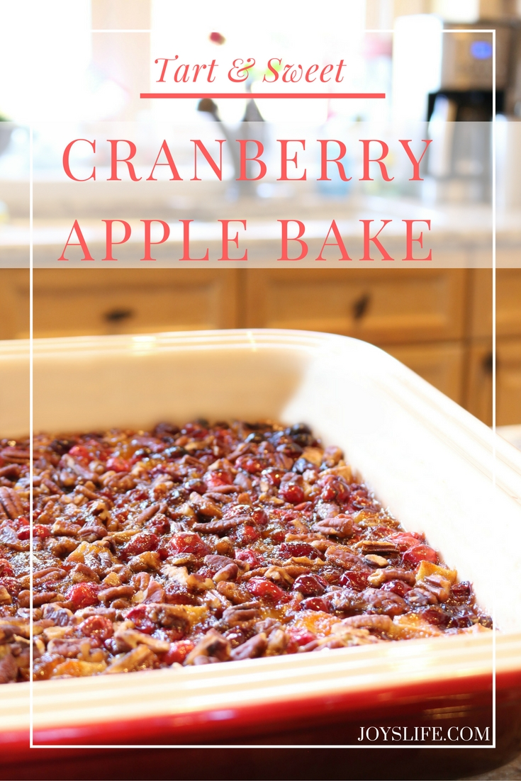 cranberry apple bake