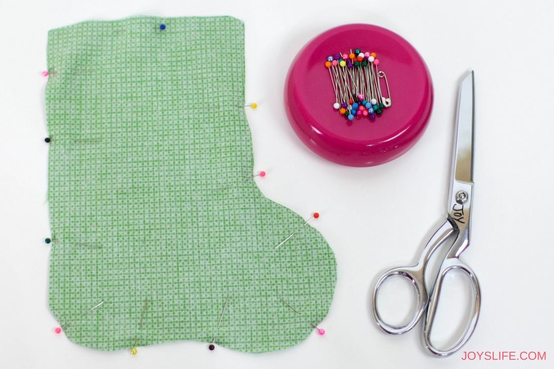 pinned stocking