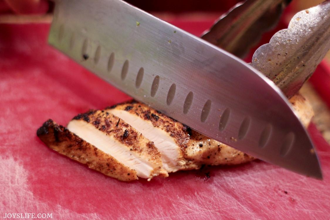 sliced seared rosemary chicken