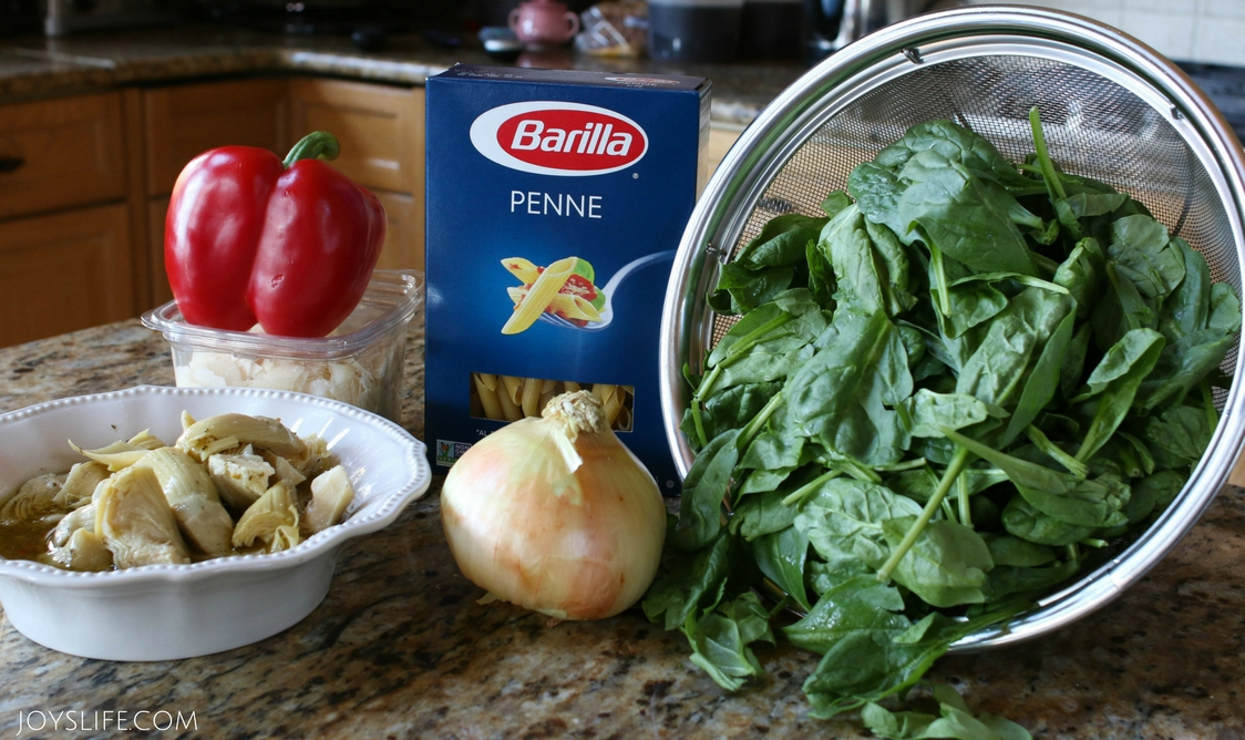 spinach ingredients barilla