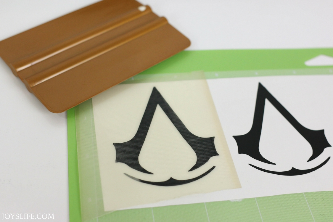 burnishing vinyl for assassin's creed cup