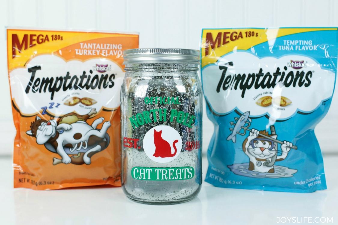 temptations cat treats jar