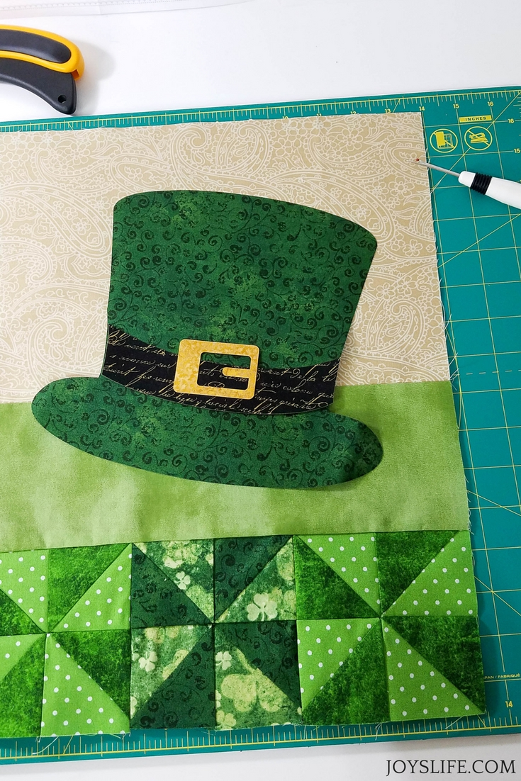 leprechaun hat not quilted