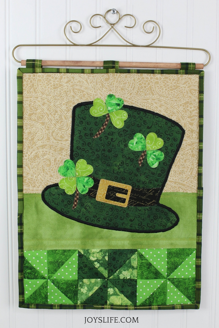 St. Patrick's Day Mini Quilt