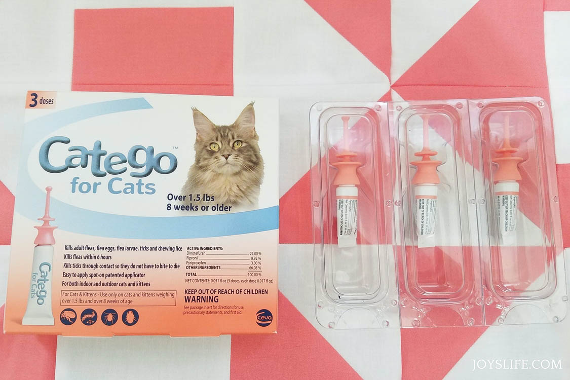 catego for cats flea and tick control