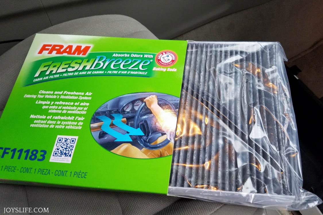 FRAM Fresh Breeze® cabin air filters