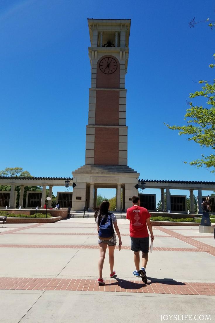 touring university of south alabama