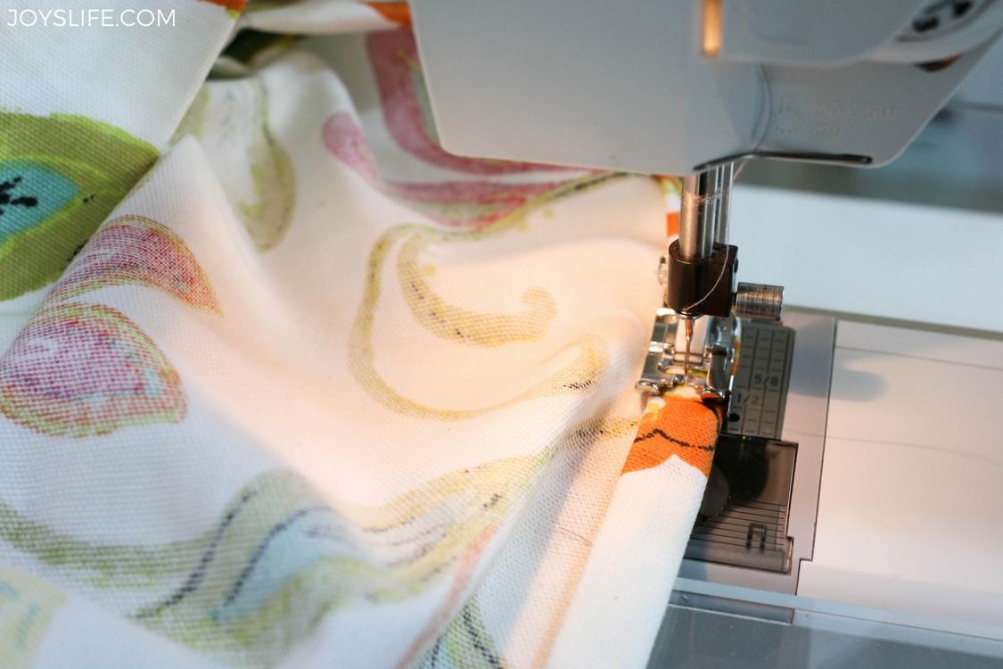 hemming laundry liner