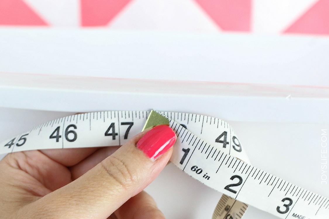 measuring laundry basket