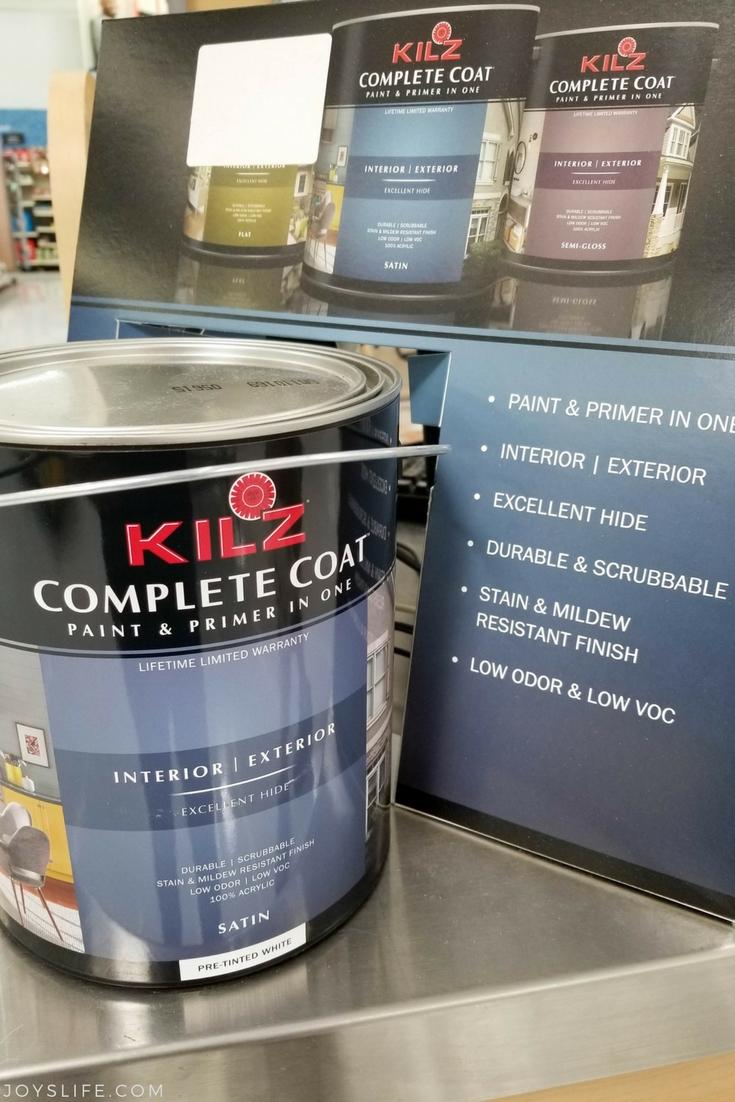 KILZ Complete Coat Display