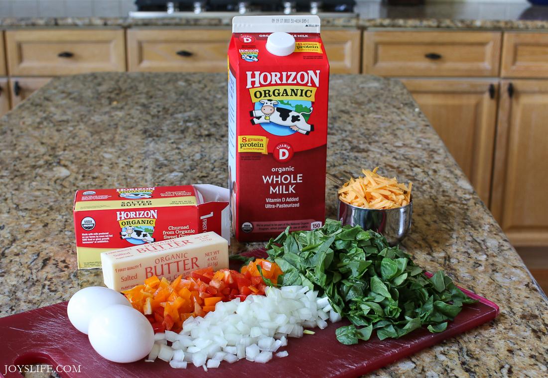 horizon organic milk and butter