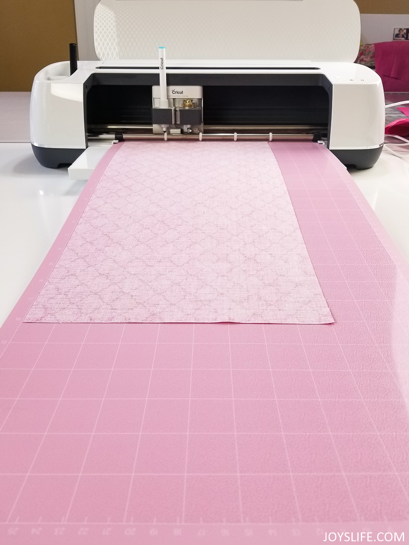 Cricut Maker fabric mat tabletop