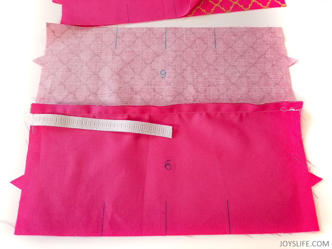 Cricut Maker dustcover elastic side sewn