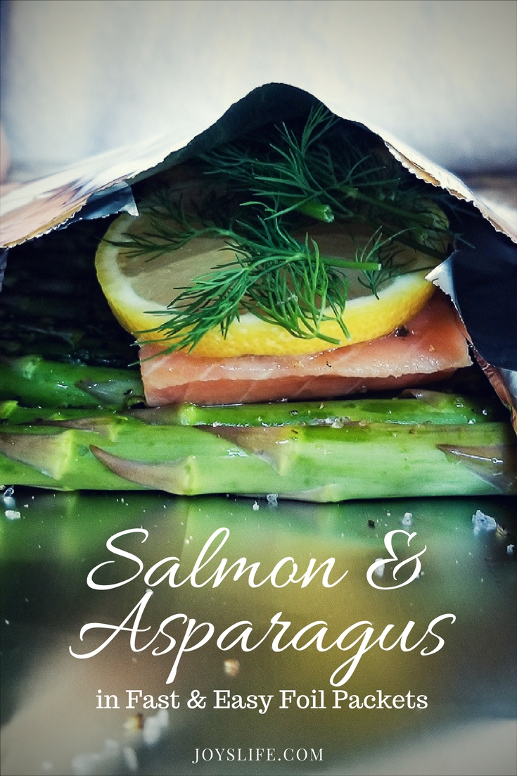 Easy Salmon and Asparagus in Foil Packets