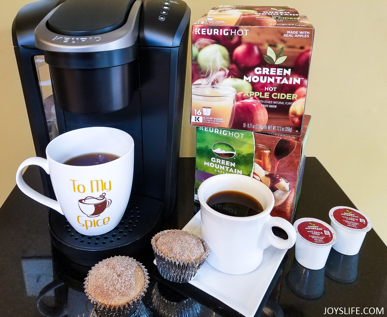 Keurig Select Kcups Muffins and Coffee