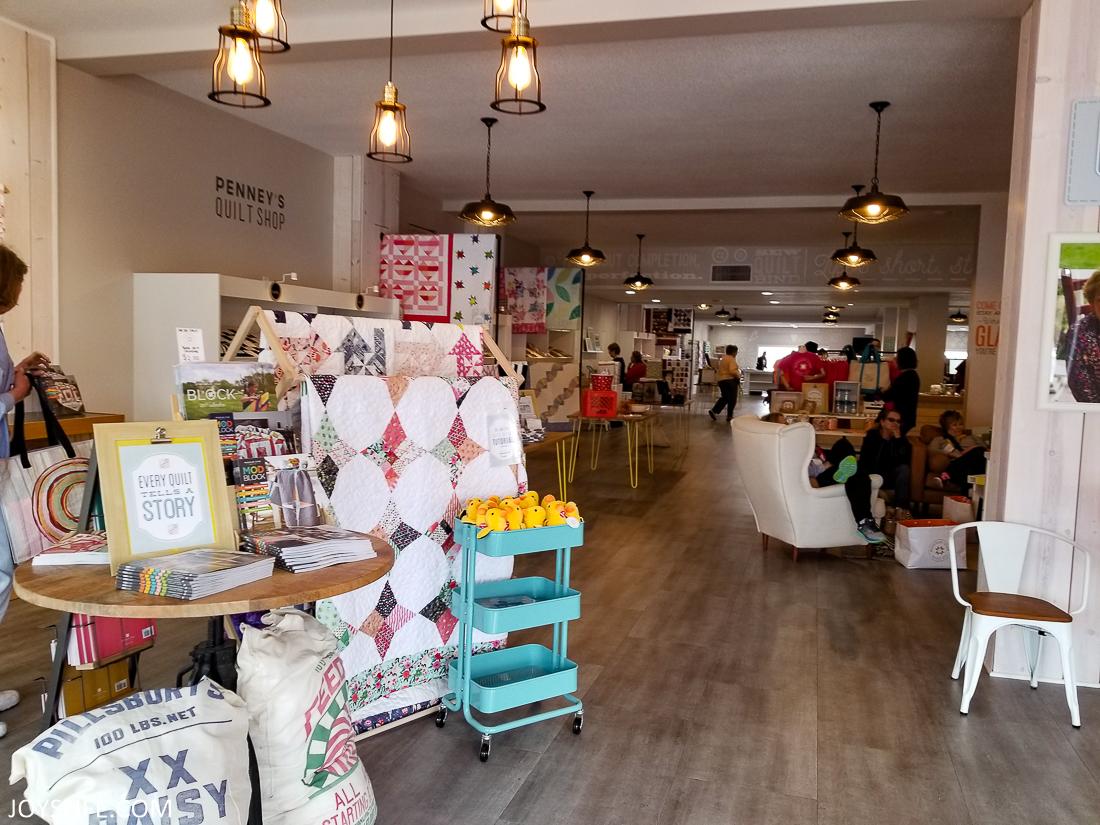 Missouri Star Quilt Shop inside